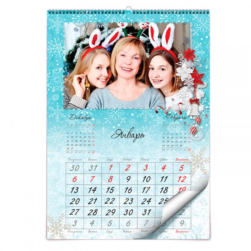 всего торшеры где можно сделать календарь со своими фотографиями сам